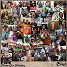 Indie south west hip hop artist mixtape cover Blaze Family Ova Everything FOE